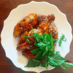 Fish sauce wings with fresh herbs