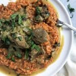 Moroccan Lamb Risotto with an Instant Pot