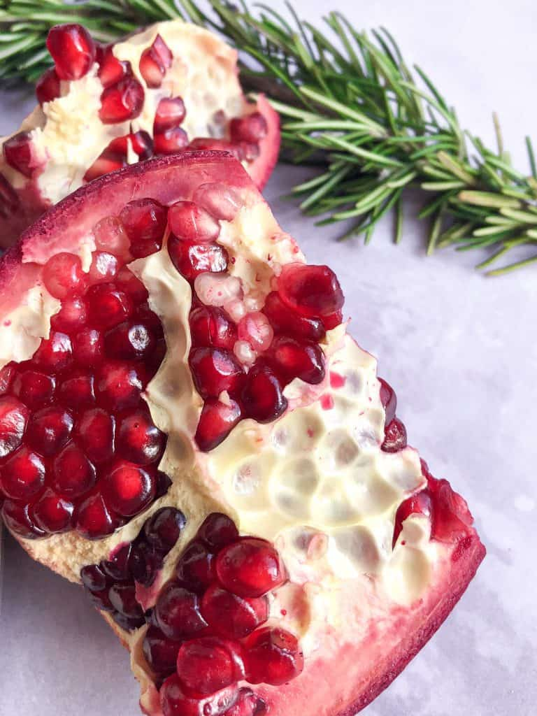 How To open a pomegranate.
