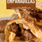 A plate of empanadillas