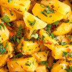 a bowl of spicy potatoes