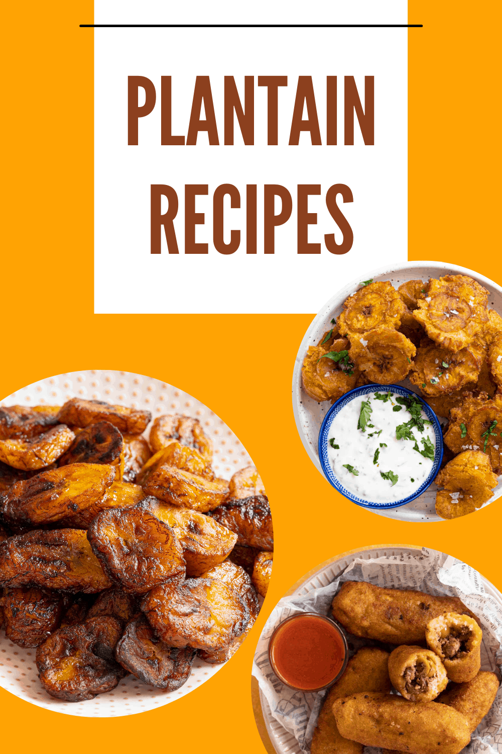 A collection of plantain recipes