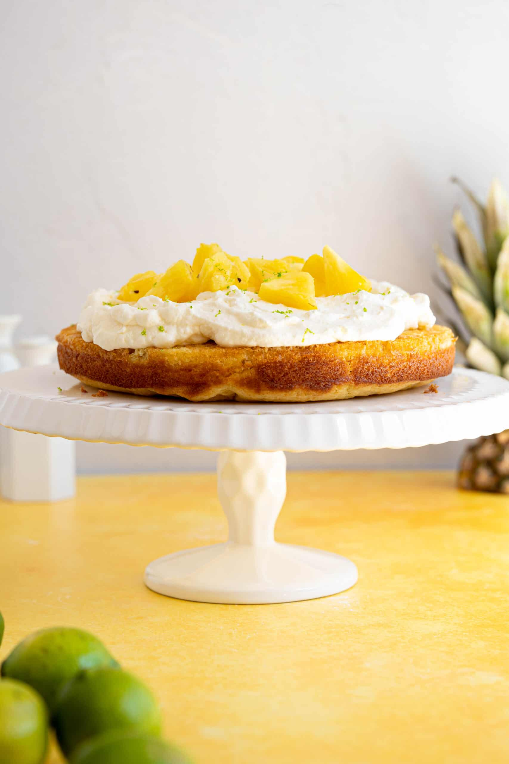 a pina colada cake